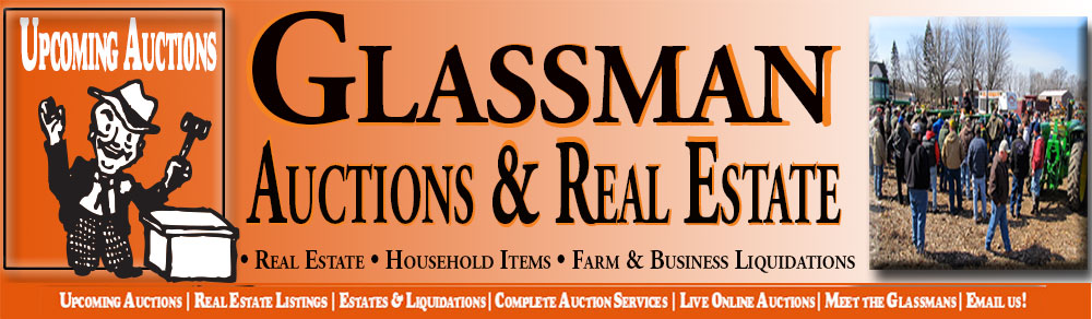 Upcoming Auctions by Glassmans